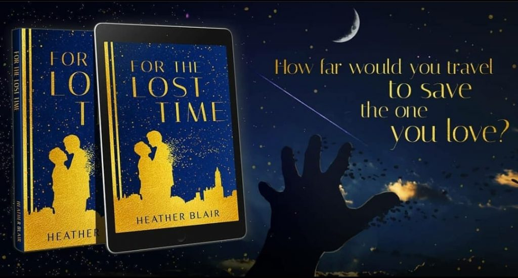 Heather Blair, Author – New LGBT Time Travel Romance to 1920!