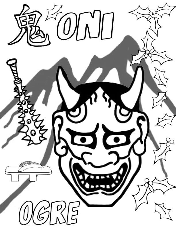 Coloring Book & Poster Collection: Japanese Kanji Anime & Manga ...   792x612