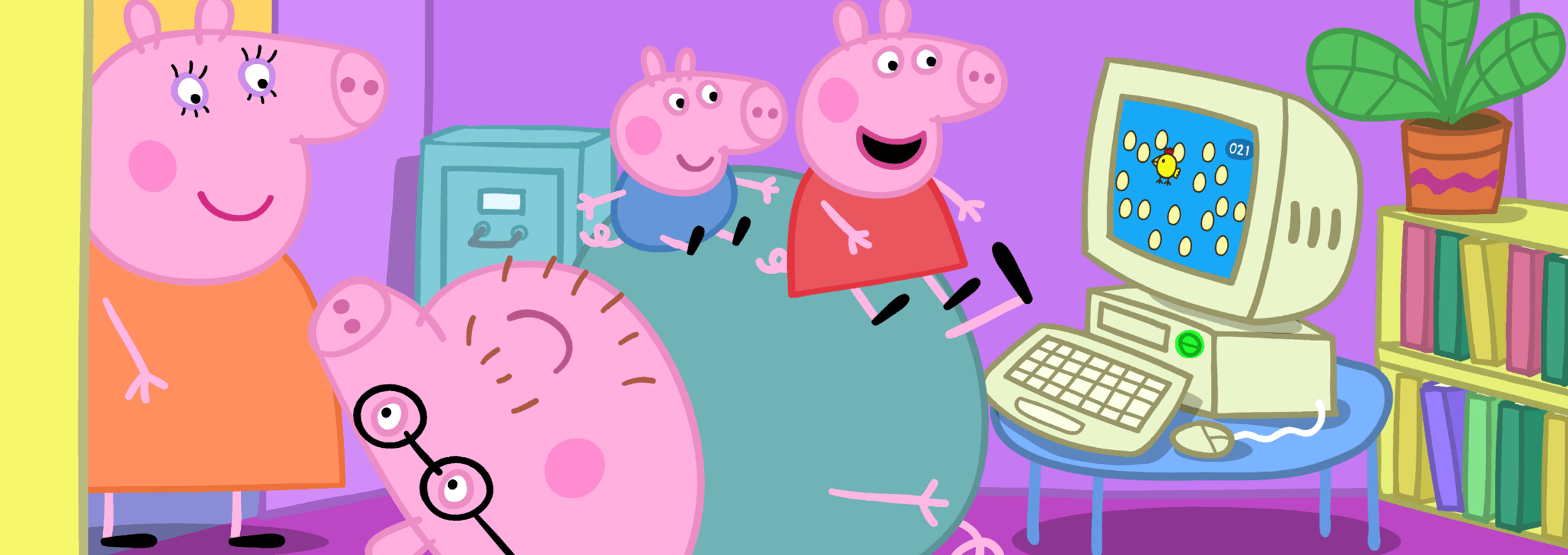 Peppa Pig Videos And Activities From Entertainment One Awesome Con