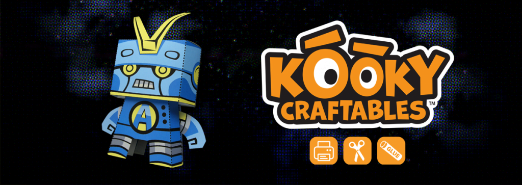 How to Make an Awesome Bot Paper Craft!